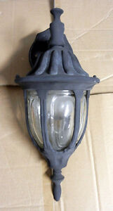 Used Outdoor Carriage-Style Lamps