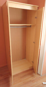 Armoire or Wardrobe cabinet, LIKE NEW REDUCED $80