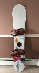 Women's Snowboard Kit - Burton Board, Bindings and Boots