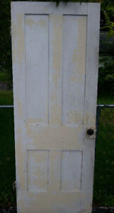 Old Weathered solid wood Rustic Primitive Country Door