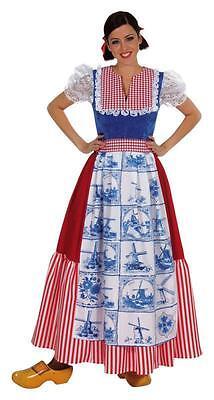 Holländerin Kostüm Frau Antje Tracht Dirndle Holländer Holland Hollandkostüm
