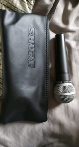 SM58 Microphone Mint Condition