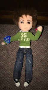 "Ty Girlz RARE!! Boy Guyz Plush Doll New with Tags ""Totally Troy"""
