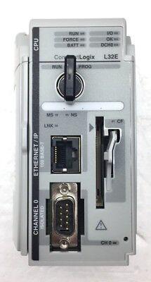 Allen-bradley 1769-l32e A Compactlogix Enet Plc Processor Controller Fw 20