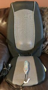 Heated cushion with massage