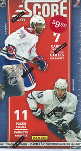 Score Hockey 10-11 11-Pack Box  Find Rookies inserted 1 in eve