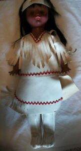 Vintage Regal Native Indian Doll