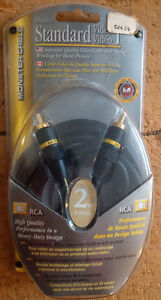 Monster SV1 Video Cable for VCR, TV, Camcorder etc. New sealed.