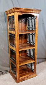 Solid Jali Sheesham bookcase