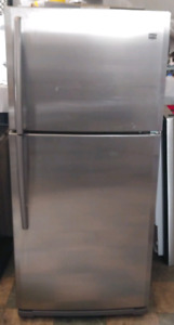 Maytag frost free stainless steel fridge works great