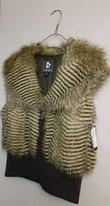 Brand NEW w tags on, ABBY MAGS Faux Fur Vest