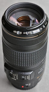PRICE REDUCED $50!!  Canon EF 70-300mm f4-5.6 IS USM lens.