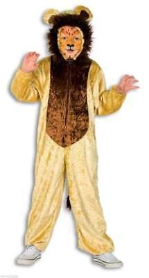Plüsch Kostüm Löwen Tier Kinder Löwe Overall Mädchen Junge Baby Kleinkinder Lion (Löwe Kostüm Mädchen)