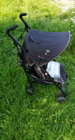 Silver Cross Pop Butterfly pushchair / stroller with accessories