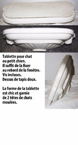 Tablette pour chat