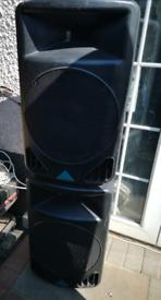 """Pair 12"""" alto PS 4L passive speakers."""