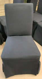 #bargaincorner HENRIKSDAL, Chair frame with cover blue , WAS £70.00 Nottingham