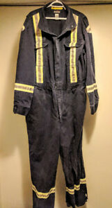 BULWARK FR Premium Coverall with CSA Compliant Reflective Trim