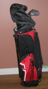 Sandra Post Special Order Ladies Left Handed Golf Clubs and Bag