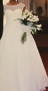 Beautiful organza wedding dress