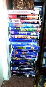 26 Disney VHS Tapes All in Excellent Condition