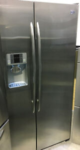 GE Profile side by side w/ ice & water dispenser Fridge $899