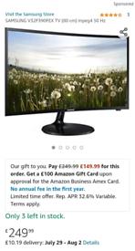 TV Samsung Curved Full HD