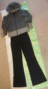 Lululemon Reversible Pants & Hoodie (Size 8)