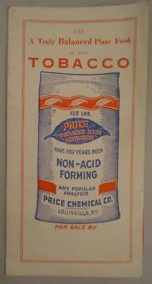 Price Chemical Tobacco Base Fertilizers Balanced Plant Food Louisville Ky Ad