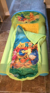 Winnie the Pooh inflatable travel bed