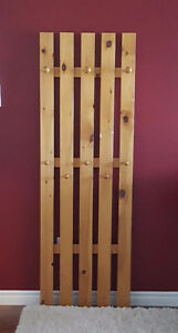 Solid Pine Coat Rack Kitchener / Waterloo Kitchener Area image 1