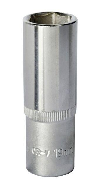 "Sealey WallDrive® Socket 19mm Deep 1/2""Sq Drive S1219D"