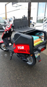 2009 50 Commercial delivery $10 bucks gas week = 150km range