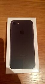 iPhone 7 - 128G - matte black - never used - £575.00