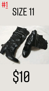 Women's Shoes and Clothes, Mens Shirts
