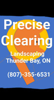 Precise Clearing Landscaping snow/ice removal and salt available