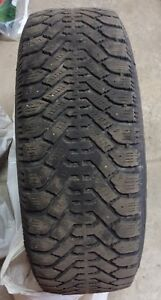 P225/60R16 Goodyear Nordic Snow Tires with Steel Rims London Ontario image 8