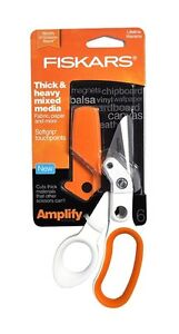 "NEW: FISKARS Amplify® Mixed Media Shears (6"") - $25"