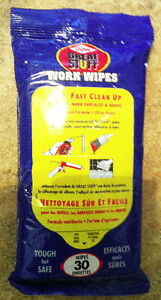 Great Stuff Work Wipes (NEW Pack of 30)
