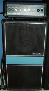 Acoustic 260 Bass Mini Stack *Nego*