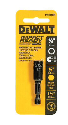 Dewalt Accessories Dw2218ir Dewalt Impact Ready 14 X 1-78 Magnetic Nut Driver