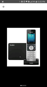Yealink YEA-W56P Business HD IP Dect Cordless Voip Phone & Base