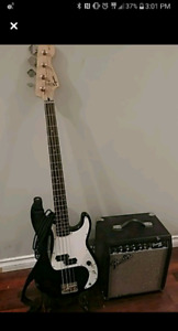 Squier By Fender, Base/Frontier Fender Amp/Cord