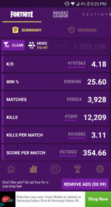 Fortnite Xbox One Wins (duo or squad)