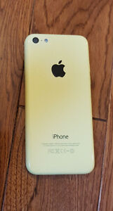 I PHONE 5C (yellow )