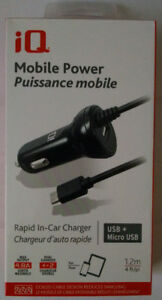 BRAND-NEW Android Micro USB Phone CAR Power Charger