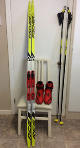 Ensemble de skis de patin