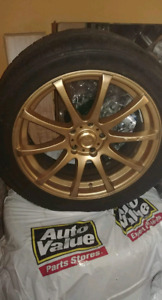 Mag dai 18x7.5 5x114.3 et44 + pneu michelin pilot sport as3 9/32