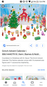 How the Grinch Stole Christmas Advent Calendar