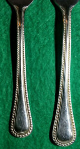 Oneida Bruschetta , Stainless, 18/10, Beaded flatware